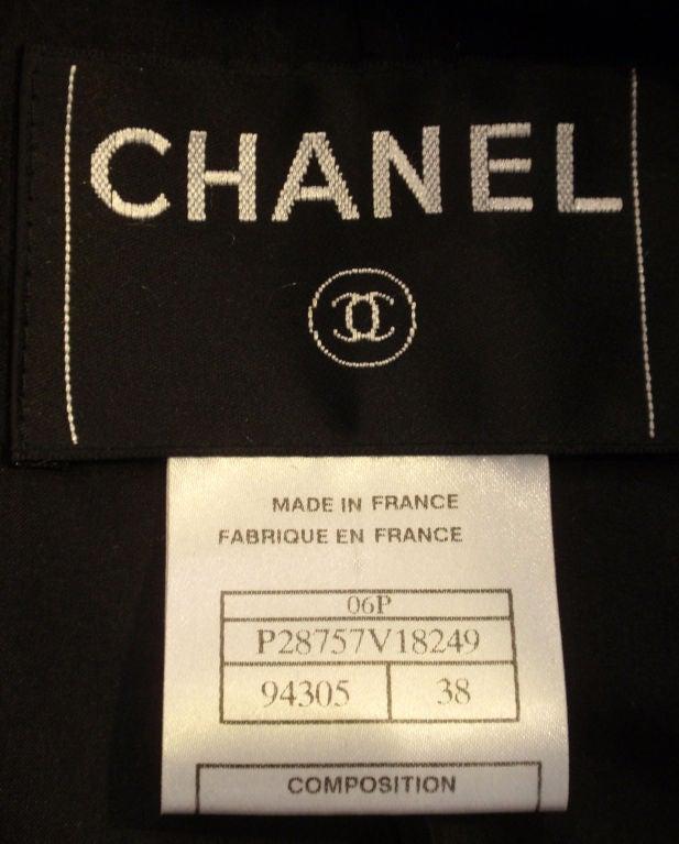 Chanel Navy Blue Blazer With Silver Trim, Circa 1990 2