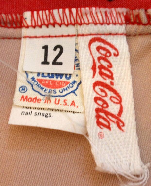 Vintage Classic Coca-Cola Bathing Suit, Circa 1986 2