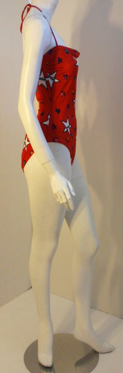 Vintage Classic Coca-Cola Bathing Suit, Circa 1986 4