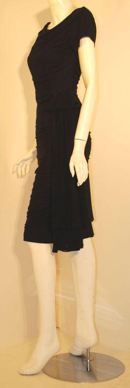 Ceil Chapman  Black Vintage Cocktail Dress, 1950 3
