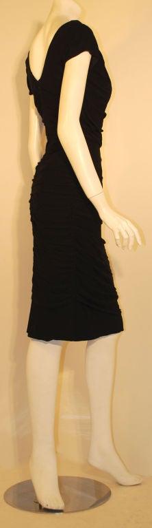 Ceil Chapman  Black Vintage Cocktail Dress, 1950 4