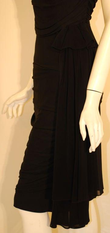 Ceil Chapman  Black Vintage Cocktail Dress, 1950 8