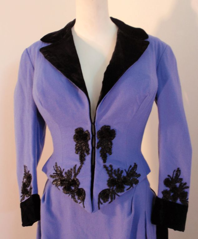 "Nolan Miller ""Poker Alice"" Costume, worn by Elizabeth Taylor 8"