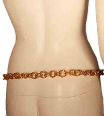 """Chanel Gold Baroque Chain Link Belt with """"CC"""" Logo 8"""