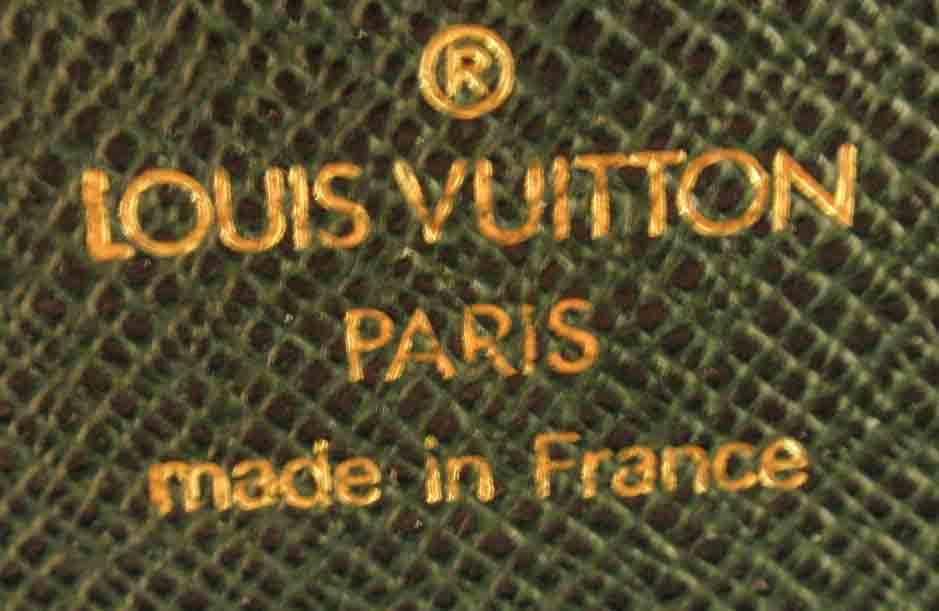 Louis Vuitton Dark Green Leather Briefcase 2