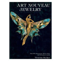 """Art Nouveau Jewelry"" Hardback Book by Vivienne Becker"