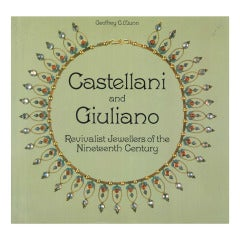 CASTELLANI and GIULIANO Book - Revivalist Jewellers of the 19th Century