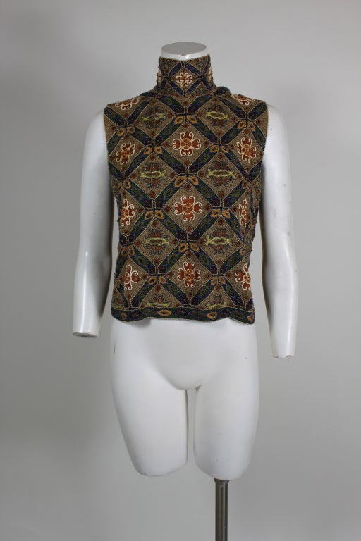 Laura Biagotti Beaded Blouse 3