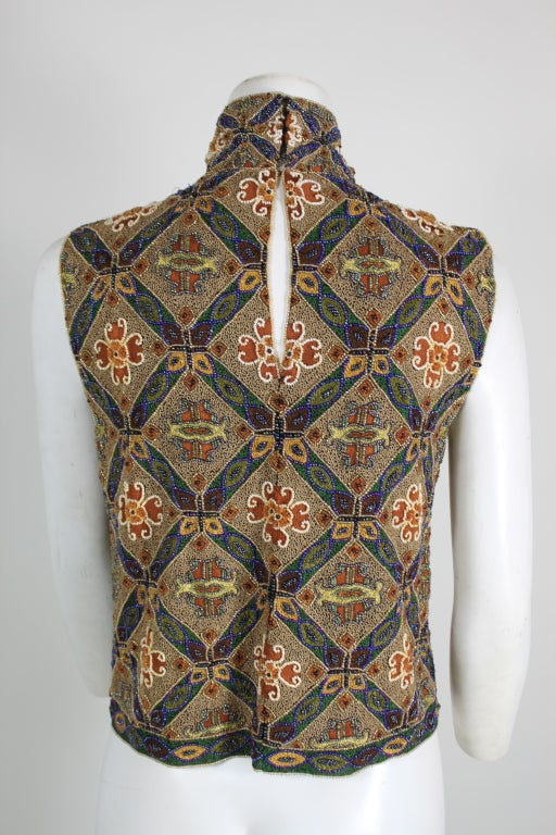 Laura Biagotti Beaded Blouse 5