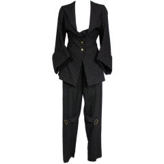 Vivenne Westwood 1990s Two-Piece Bondage Suit