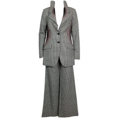 Issey Miyake Exploded Houndstooth Suit