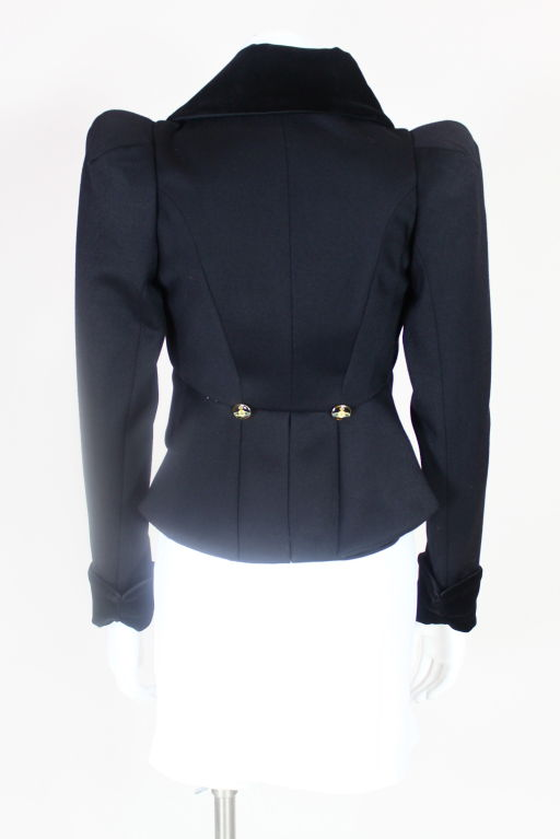 Vivienne Westwood Twill and Velveteen Jacket 6