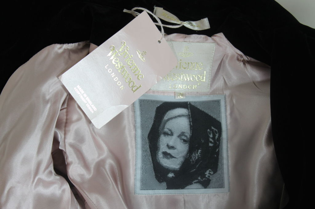 Vivienne Westwood Twill and Velveteen Jacket 10