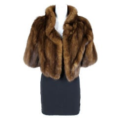 I. Magnin Sable Fur Jacket