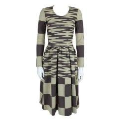 Rudi Gernreich Geometric Wool Dress