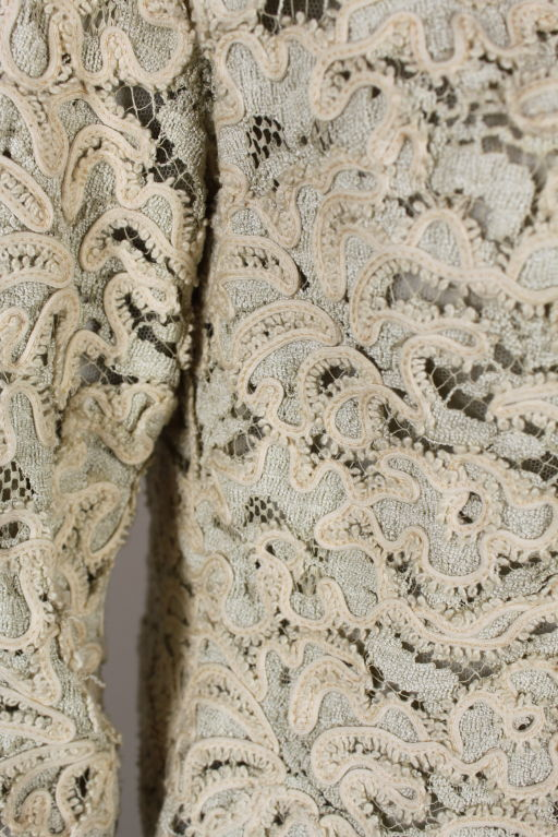 Christian Dior S/S 1965 Ivory Lace Jacket 7