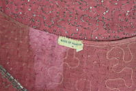 1920â??s Rose Pink Beaded French Flapper Dress thumbnail 9
