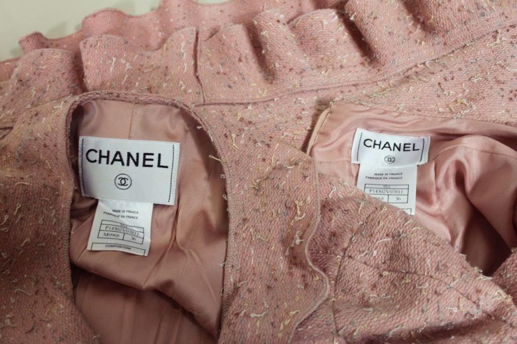Chanel Pink Tweed Suit 10