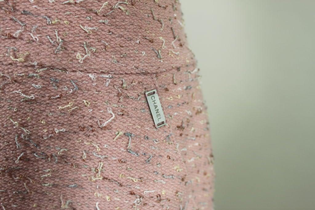 Chanel Pink Tweed Suit 7