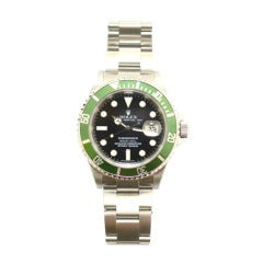 Rolex Stainless Steel Submariner Wristwatch Ref 16610LV