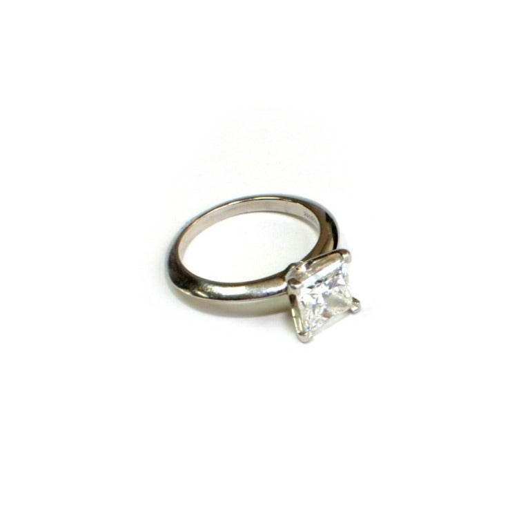 and co 2 01ct princess cut engagement ring