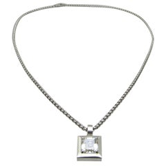 Chopard Diamond Pendant G.I.A.