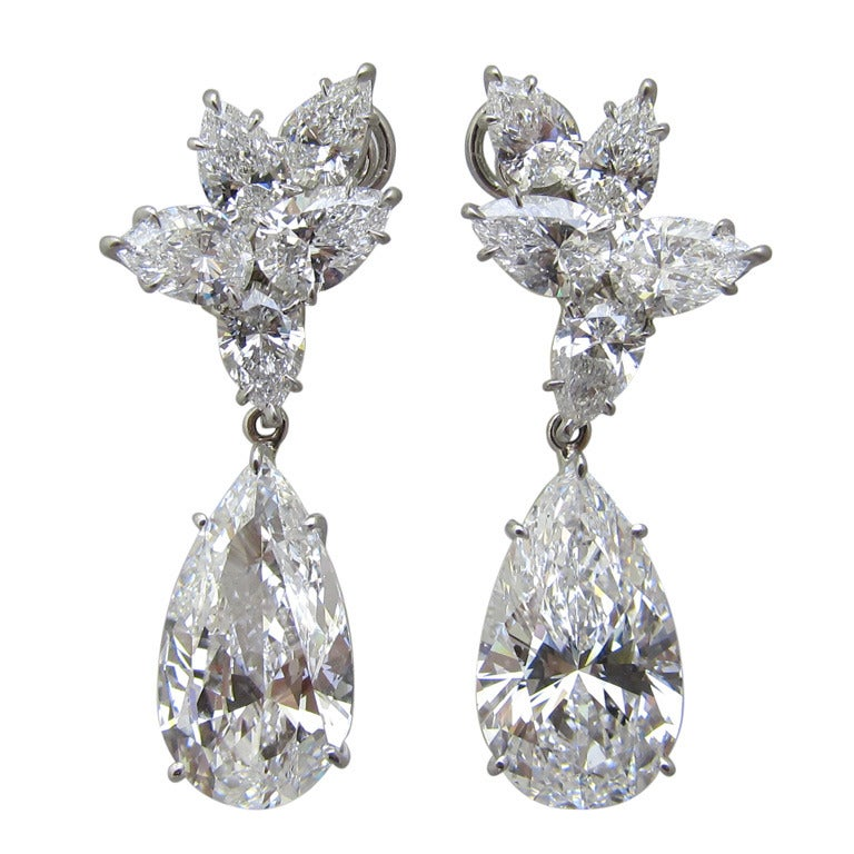 Magnificent Diamond earrings 1