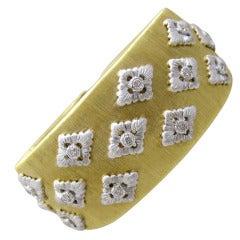 Buccellati  Diamond Cuff Bracelet