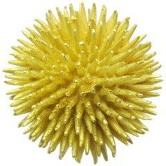 Tiffany & Co  Sea Urchin Gold Brooch