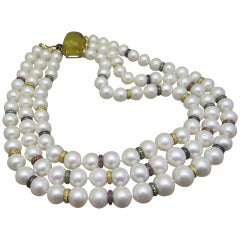 Michele Della Valle   Pearl Necklace