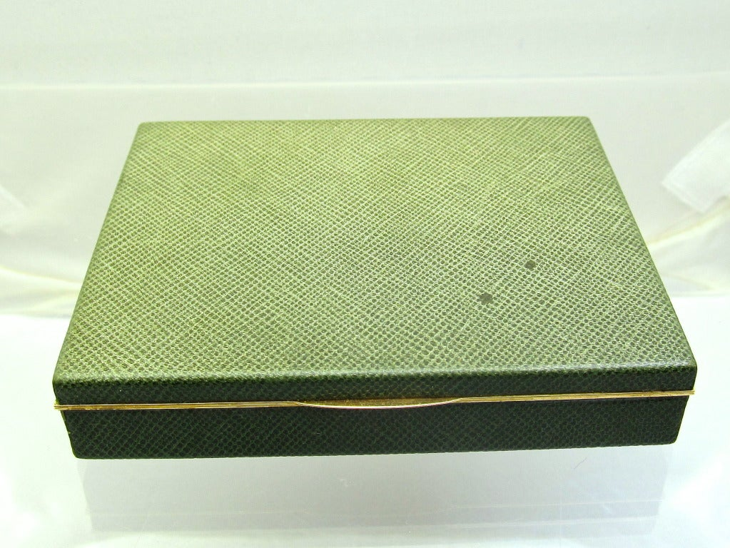Tiffany and Co by  J. Schlumberger  Gold Case In Excellent Condition For Sale In New York, NY