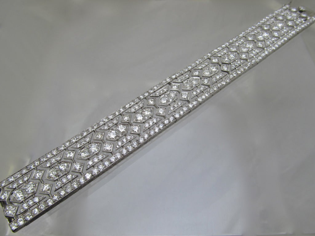 Tiffany & Co  Art Deco Diamond  Bracelet 5