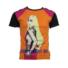Versace 1990s Donatella Versace Pop T-Shirt