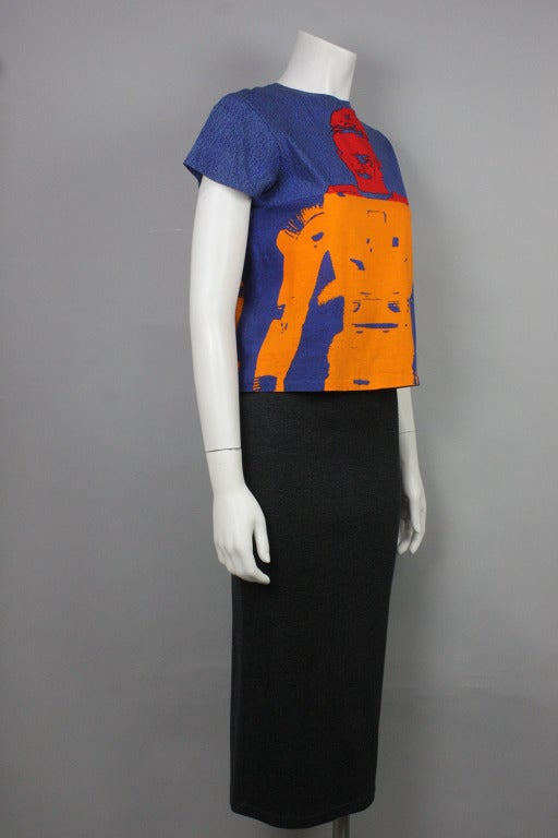 Stephen Sprouse Andy Warhol 1998 T-Shirt 2