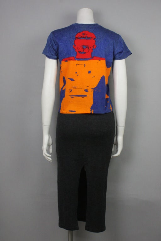 Stephen Sprouse Andy Warhol 1998 T-Shirt 3