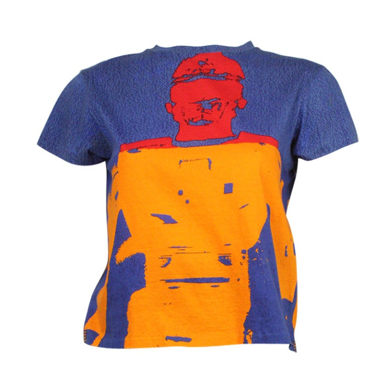 Stephen Sprouse Andy Warhol 1998 T-Shirt 1