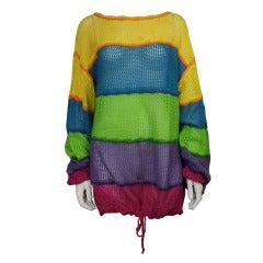 Kansai Yamamoto 1980s Sweater