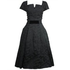 Hattie Carnegie 1950s Cocktail Dress