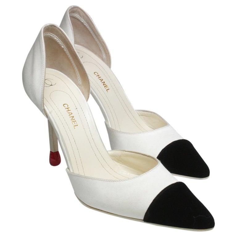 Chanel Matchstick Stiletto Heels 1