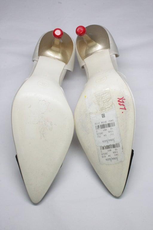 Chanel Matchstick Stiletto Heels 5