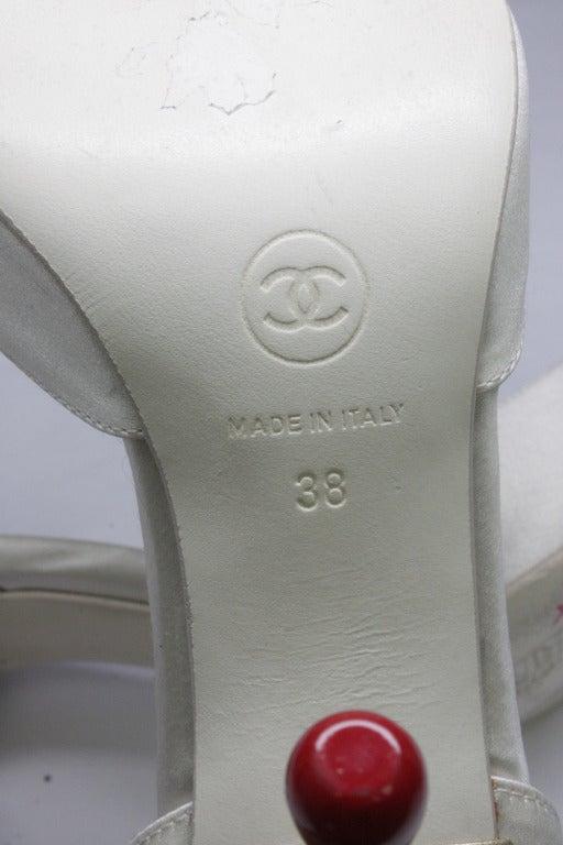 Chanel Matchstick Stiletto Heels 6