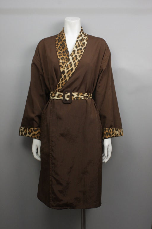 jean paul gaultier 1996 pin up coat robe at 1stdibs. Black Bedroom Furniture Sets. Home Design Ideas