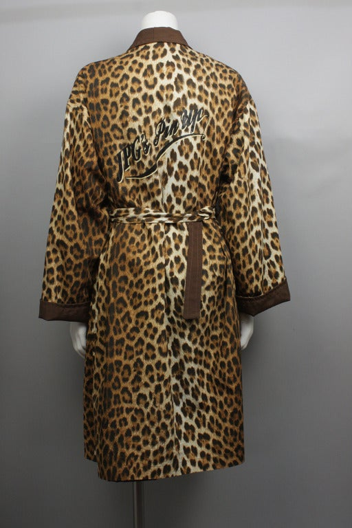 jean paul gaultier 1996 pin up coat robe for sale at. Black Bedroom Furniture Sets. Home Design Ideas
