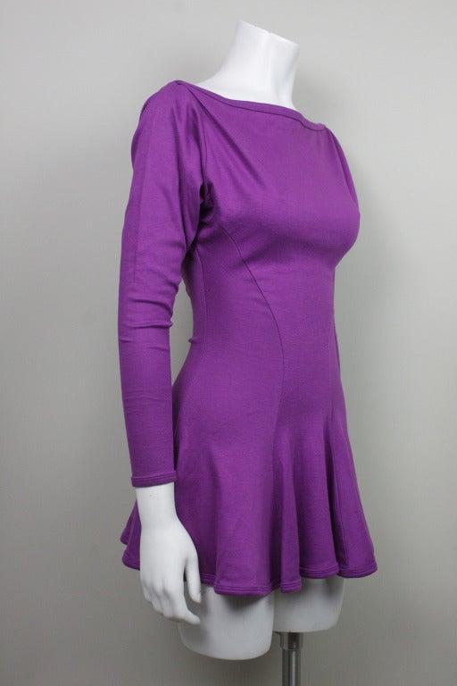Betsey Johnson Punk Label Purple Mini Dress 2