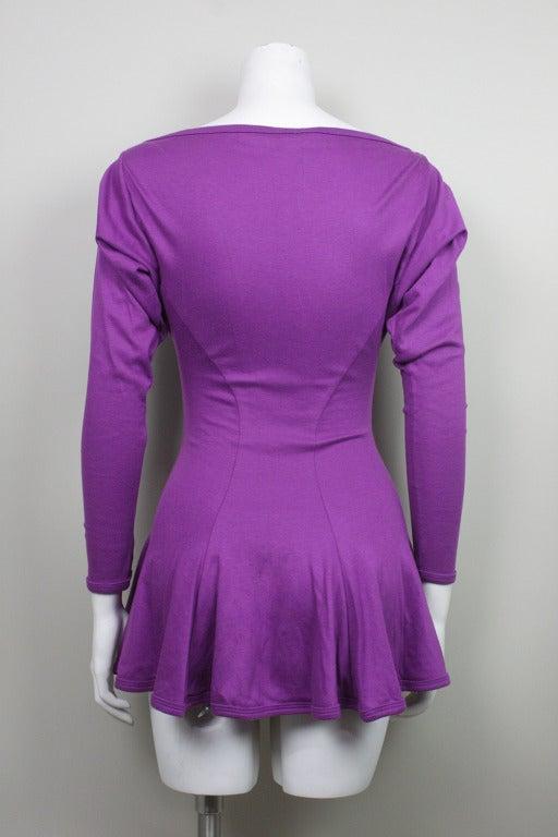 Betsey Johnson Punk Label Purple Mini Dress 3