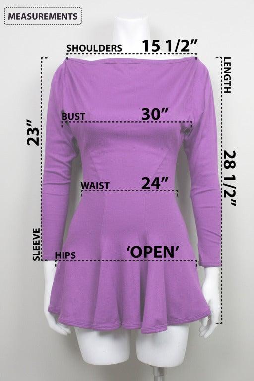 Betsey Johnson Punk Label Purple Mini Dress 5