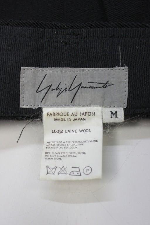 Women's 1980s Yohji Yamamoto Jodphur Dress Pants For Sale