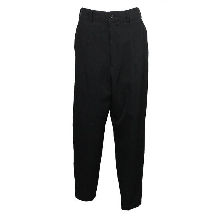 1980s Yohji Yamamoto Jodphur Dress Pants For Sale