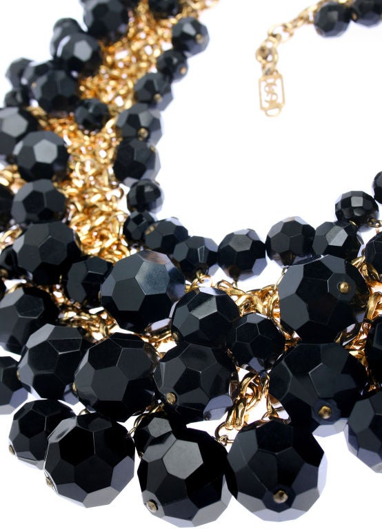 Yves St. Laurent Faceted Necklace image 2