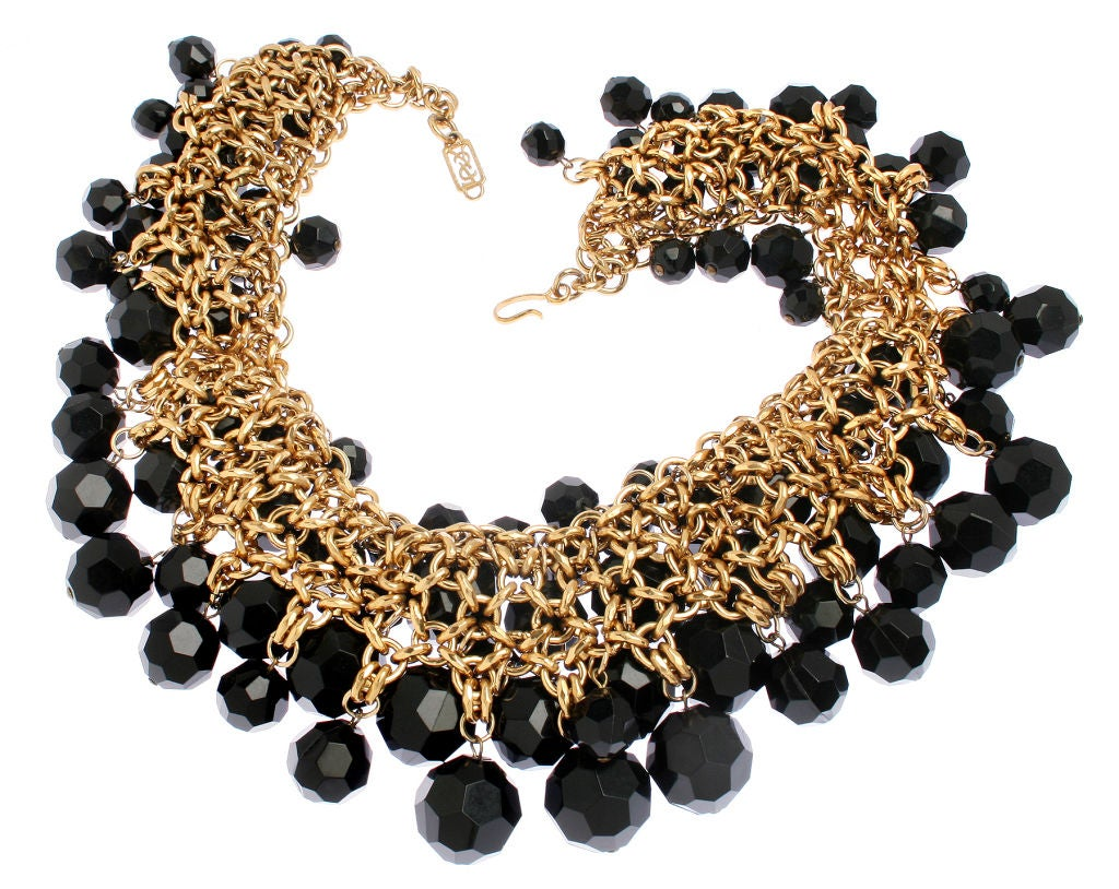 Yves St. Laurent Faceted Necklace image 4